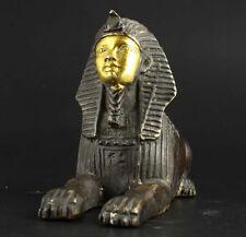 Shang Zhou dynasty bronze Egyptian Pyramids Sphinx statue