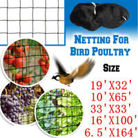 8 Size 5M - 50M Net Anti Bird Netting Pest Commercial Fruit Tree Plant Knitted