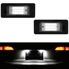ECLAIRAGE PLAQUE LED BMW X5 E70 03/2007-06/2013 TOUS MODELES FEUX BLANC XENON