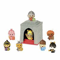 World of Warriors Collectible Figures  Pack of 8