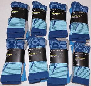 New Nike 3-pk. Boy's Performance Cushioned Crew Socks 3Y-5Y, 5Y-7Y