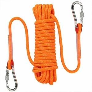 Outdoor Climbing Rope 10MM Diameter Fire Escape Safety Rescue Rappelling Rope
