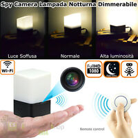 Telecamera di videosorveglianza wifi nascosta occultata Micro Spia Spy Cam 1080p