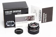 Voigtländer Color-Skopar 2.5/35mm Pancake VM II  f. Leitz / Leica M
