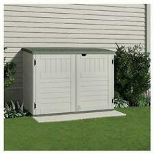 Suncast BMS4700 70 cu. ft. Horizontal Trash Can Shed