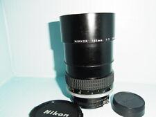 【Near MINT 】 Nikon Ai-s AIS Nikkor 135mm F2 Telephoto MF Lens from Japan G108