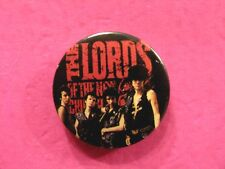 THE LORDS OF THE NEW CHURCH VINTAGE BUTTON BADGE PIN UK MADE