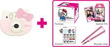 Fujifilm Instax Mini Hello Kitty Cámara instantánea con 10 disparos