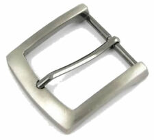 Zinc Die Cast Belt Buckle. Antique Silver Effect. Suitable For 38mm Wide Belts