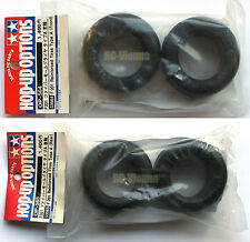 "Tamiya F201 Reinforced Tires Type A Front & Rear (Rennreifen) ""NEW"" 53564 53565"
