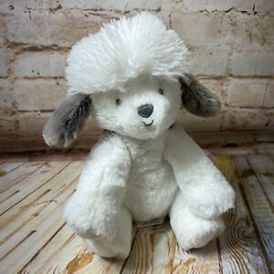 Carter's Just One You Gray White Puppy Dog Sheepdog Baby Stuffed Animal Plush