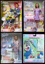 Pregnant Midge Barbie Doll Baby Alan Ryan Happy Family Doctor Denim Fashion Lot