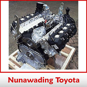 NEW GENUINE TOYOTA VDJ76R VDJ78R VDJ79R 1VDFTV LONG DIESEL MOTOR ENGINE VDJ V8