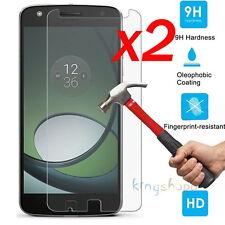 2Pcs 9H Premium Tempered Glass Screen Protector Film For Motorola Moto Z Play
