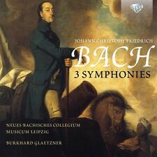 JoÃ/nbcm glaetzner - 3 symphonies CD NEUF Bach, Johann Christian