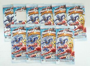 Lotto n. 10 Bustine: Power Rangers Dinothunder. Playing Cards Collection anno...