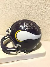 Carl Eller Signed Minnesota Vikings Mini Helmet Tristar