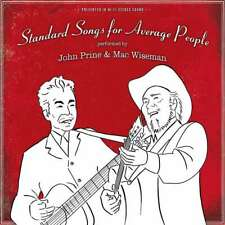 FREE US SHIP. on ANY 3+ CDs! ~Used,Good CD John Prine & Mac Wiseman: Standard So