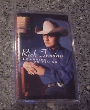 """Rick Trevino """"Learning As You Go"""" SEALED NM CASSETTE"""