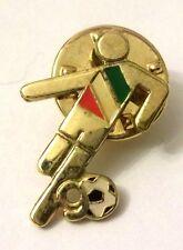 Pin Spilla Calciatore Italia '90 Mondiali Di Calcio Argento Dorato 800