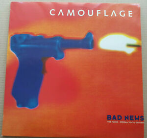 "Camouflage - Bad News (The Mixes - Special Vinyl Edition) 3 Vinyl Set 12"" Maxi"
