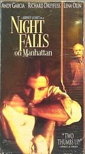 Night Falls On Manhattan (VHS, 1997) Andy Garcia, Richard Dreyfus & Lena Olin LN