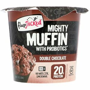 Mighty Muffin with Probiotics, Double Chocolate, 1.94 oz (55 g)