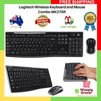 Logitech MK270R Wireless Combo Desktop Keyboard & and Mouse GENUINE   FREE SHIP