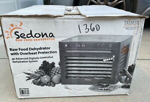 Tribest Sedona Combo SD-P9000 Sedona Combo Digital 9-Tray Rawfood Dehydrator NEW