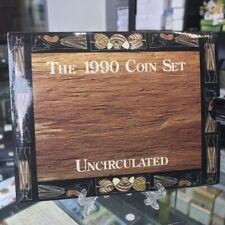 Australia 1990 Uncirculated 8 Coin Year Set Royal Australia Mint – Scarce