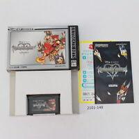 Nintendo Gameboy Advance GBA KINGDOM HEARTS Chain Of Memories NTSC-J 2101-148