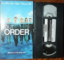 OUT OF ORDER (vhs) Eric Stoltz, Felicity Huffman, Justine Bateman. VG Cond. Rare