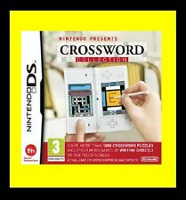Nintendo Presents: Crossword Collection Nintendo DS DSi XL As New