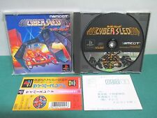 PlayStation -- CYBER SLED -- PS1. JAPAN GAME. Spine card. work fully. 14835
