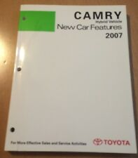 Camry Hybrid Vehicle New Car Features 2007