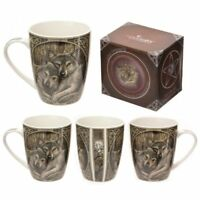 Lisa Parker Loyal Companions Wolf Bone China Mug