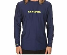 NWT Dakine Men's M Medium Long Sleeve Loose Fit Rash Guard Navy Blue Heavy Duty