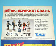 STAR WARS CLIPPER MAGAZINE ADVERT ESB 1982 DONALD DUCK HOLLAND KENNER