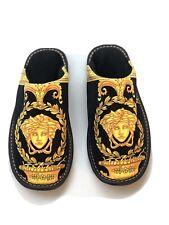 Hausschuhe Slippers Gold Exclusive versac Luxus