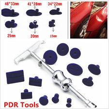 Body Paintless Dent Repair PDR Tools Kit Puller Slide Hammer Tab Glue Sticker