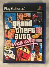 GRAND THEFT AUTO VICE CITY, PLAYSTATION 2, PS2
