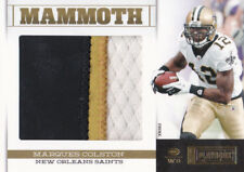012 PLAYBOOK MARQUES COLSTON MAMMOTH JUMBO NUMBERS LOGO JERSEY PATCH #4/25