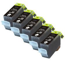 5 BLACK Premium Ink + Chip for Canon Series PGI-220 iP4600 iP4700 MP560 MP620