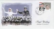 Envelop Royalty 2002 - Guyana - Huwelijk Willem Alexander en Maxima (roye081)