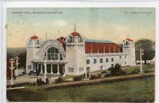 (Ld3304-468) Concert Hall, BRADFORD Exhibition, 1904 Used G-VG