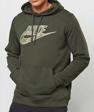 Nike Original Camo FLC Club sequoia Kapuzenpullover & Sweats Neu Gr-M