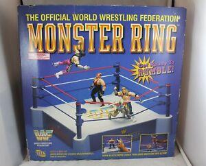WWF WWE Wrestling Monster Ring 1996 Jakks New Sealed Wrestler Figure Playset