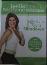 Leslie Sansone Walk your way thin belly, buns, & thighs slimdown DVD exercise