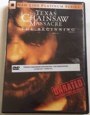The Texas Chainsaw Massacre: The Beginning (DVD 2007 UNRATED) No Scratches