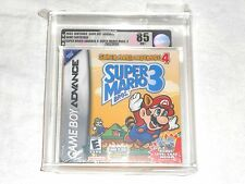 NEW Super Mario Advance 4 Super Mario Bros. 3 VGA 85 NM+ SEALED w/ Card adv gba